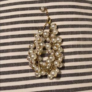 Jewelry - Pearl Cluster Bracelet